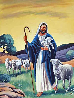 """I am the Good Shepherd, and know My sheep."""