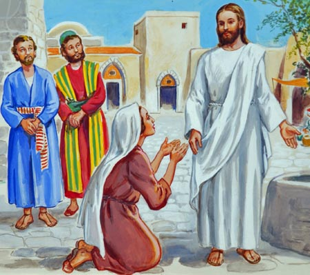 Together the mother and her sons came to Jesus, asking that He would grant a petition on which their hearts were set.