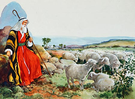 In the wilds of Midian, Moses spent forty years as a keeper of sheep. Apparently cut off forever from his life's mission, he was receiving the discipline essential for its fulfillment.