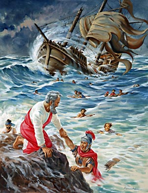 God's special purpose was fulfilled in Paul's journey upon the sea; He designed that the ship's crew might thus witness the power of God, that the heathen might hear the name of Jesus, and that many might be converted through the teaching of Paul and by witnessing the miracles that he wrought.