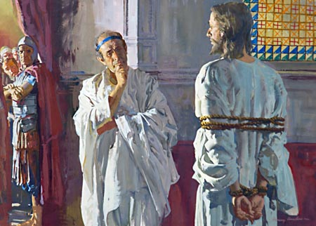 Pilate was convicted that Jesus was no ordinary man.