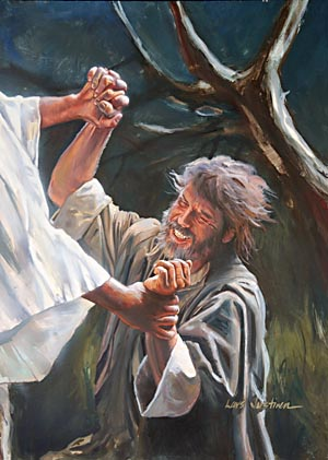 Jacob's night of anguish, when he wrestled in prayer for deliverance from the hand of Esau represents the experience of God's people in the time of trouble.