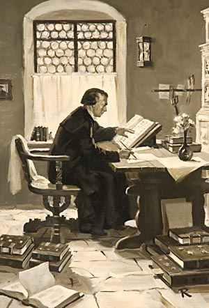 Luther's writings were studied with deep interest by rich and poor, the learned and the ignorant.