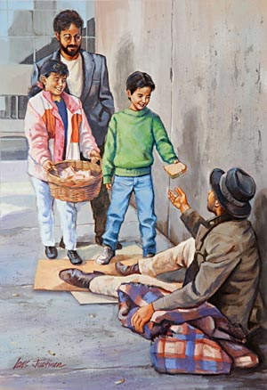 How many homeless and unemployed would we have today if every father would teach his son at least one useful trade, as God directed in the days of Israel?