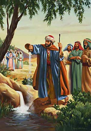 The healing of the waters of Jericho was accomplished, not by any wisdom of man, but by the miraculous interposition of God.