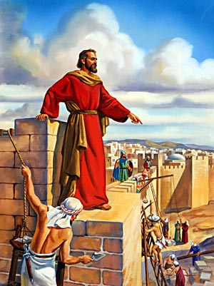 In the rebuilding of Jerusalem, God's people faced great mountains of difficulty, apparently insurmountable. Such obstacles were permitted by the Lord as a test of faith.