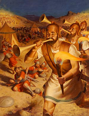 What would happen today if men fought in war the same way Gideon fought the Midianites?