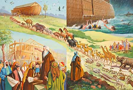 Noah gave the world an example of true faith—believing just what God says.