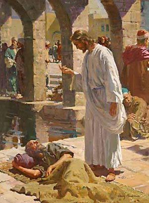 "Jesus bade the paralytic, ""Rise, . . . and walk."" The sick man might have said, ""Lord, if Thou wilt make me whole, I will obey Thy word."" But, no, he believed Christ's word, believed that he was made whole, and he made the effort at once; he willed to walk, and he did walk."
